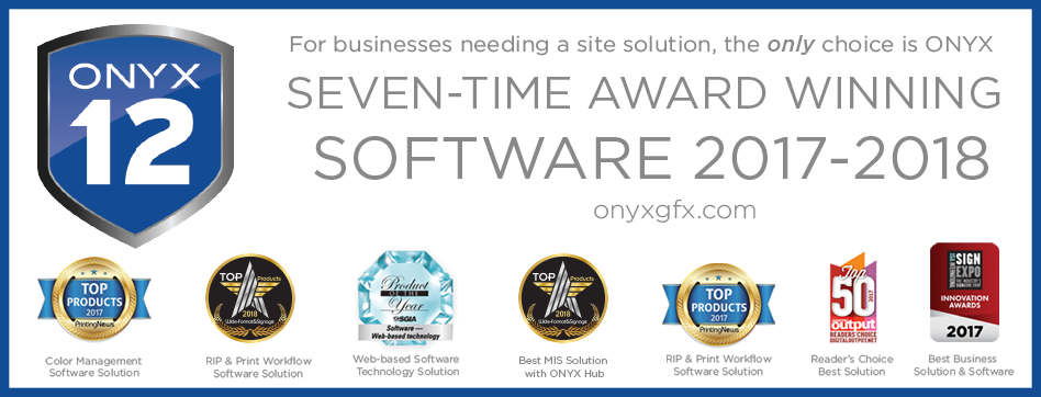 ONYX Award Winning Software